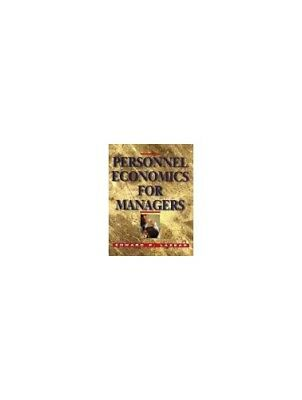Personnel Economics for Managers by Lazear, Edward P. Hardback Book The Cheap
