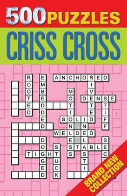 500 Puzzles: Criss-cross Book The Cheap Fast Free Post