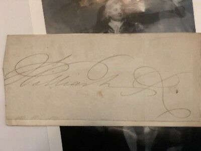 KING WILLIAM IV United Kingdom Signed Autograph Cut National Gallery 1765 - 1837