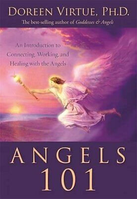 Angels 101 by Virtue PhD, Doreen Book The Cheap Fast Free Post