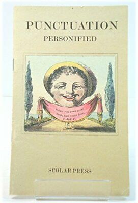 Punctuation Personified by Harris, John Paperback Book The Cheap Fast Free Post
