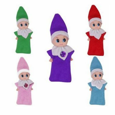 Xmas Elf On The Shelf Christmas elf Plush Doll Figure Christmas Novelty Toy Gift