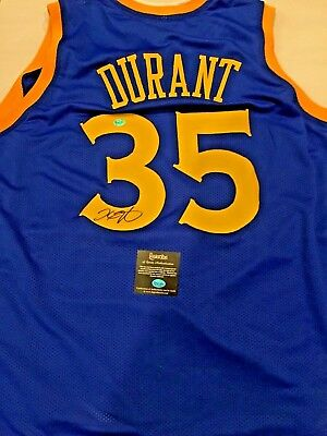 KEVIN DURANT GOLDEN State Warriors Authographed Signed Swingman ... a90938001