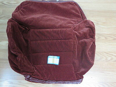 NOS 1983 - 1986 Mazda 626 factory OEM upper  seat cover  fabric upholstery