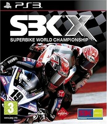 SBK X Superbike World Championship Sony PS3 VERY GOOD CONDITION WITH MANUAL