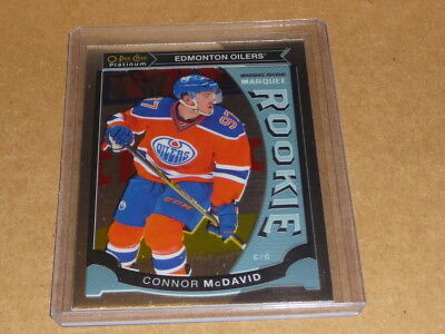 2015/16 O-Pee-Chee OPC PLATINUM CONNOR MCDAVID RC/ROOKIE OILERS M1 H4026