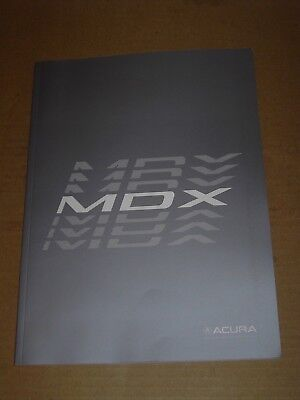 2018 2019 Acura Mdx Sales Brochure 46 Pages Mint! + 6 Page Accessories Brochure
