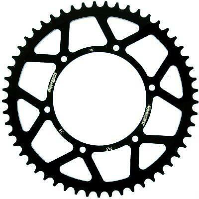 Supersprox Steel Black Rear Sprocket 520 Pitch / 53 Teeth Yamaha YZ 490 H 1987