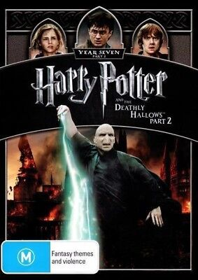 Harry Potter And The Deathly Hallows - Part 2, DVD