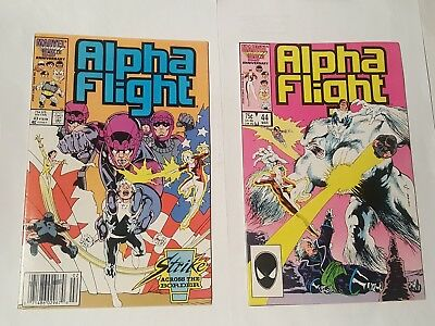 alpha flight # 43,44, 1987
