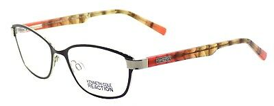 6ad0c1ccf7e Kenneth Cole REACTION KC0758 005 Women s Eyeglasses Frames 53-17-135 Black  +CASE