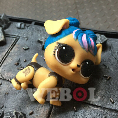 Action Figure sd LOL Surprise Doll Pets Eye Spy Series 4 Dawn Pooch 2.5in