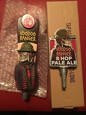 RARE VooDoo Ranger Pale ale New Belgium Fat Tire Beer tap handle New In Box