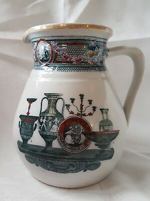 Antique Pottery Jug / Pitcher
