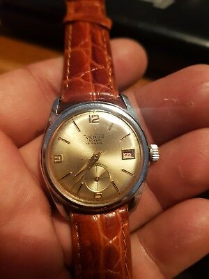 Vintage VENUS Watch  19 RUBIS  Antimagnetic Swiss Made SERVICED