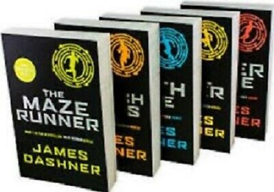 The Maze Runner(1-5) [EPUB][PDF][ENGLISH] + Free Book