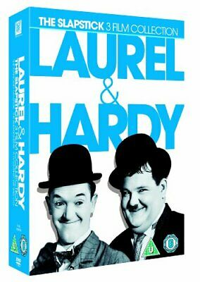 Laurel & Hardy: The Slapstick 3 Film Collection [DVD] [1942] -  CD K2LN The Fast