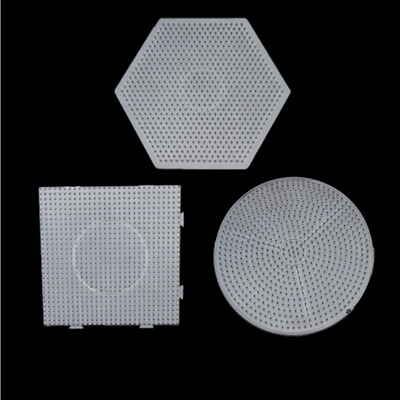 Large Pegboards for Perler Bead Hama Fuse Beads Clear Square Design Board Newly