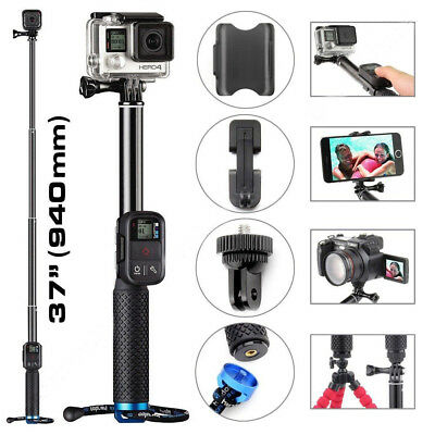 Extendable Telescopic Monopod Selfie Pole Handheld Stick for GoPro Hero 3+ 4 5 6