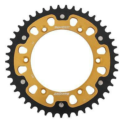 Supersprox Stealth Gold Rear Sprocket 520 Pitch / 45 Teeth Yamaha YZ 490 H 1987