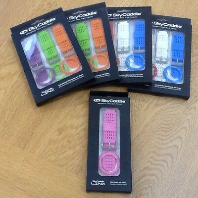 SKYCADDIE Links Watch Straps - X4 Triple Sets And X1 Single.