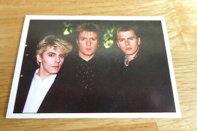 Duran Duran Panini The Smash Hits Collection 87 Sticker 1987 Mint