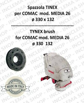 SPAZZOLA in TYNEX for Scrubber Dryer COMAC mod. MEDIA 26