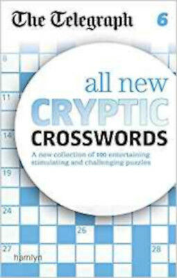 The Telegraph All New Cryptic Crosswords 6 (The Telegraph Puzzle Books), New, TH