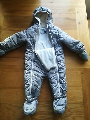 Tu boys 9-12 month snow suit