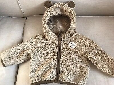 North Face Baby Teddy Fleece Jacket 3-6 Months