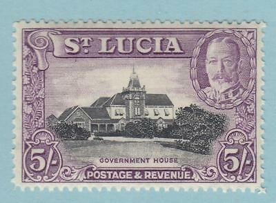 St Lucia 105 Mint Never Hinged Og ** No Faults Very Fine !