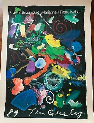 Jean Tinguely -Galerie Beaubourg 1989