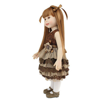 18inch Realistic Little Girl Model For AG American Doll Dolls Custom Accessory