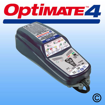 Optimate 4 Dual Program 12v Battery Charger Optimiser Can Bus SAE Connectors