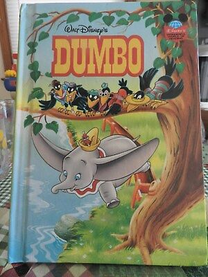 Walt Disney's DUMBO Vintage  Hardcover Book - Wonderful World of Reading