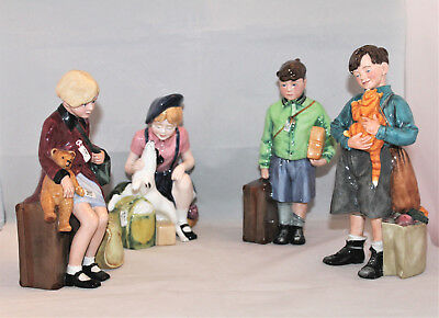 Set of 4 Royal Doulton Evacuees