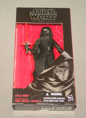 """Kylo Ren The Black Series 6"""" Action Figure The Force Awakens Star Wars NEW"""