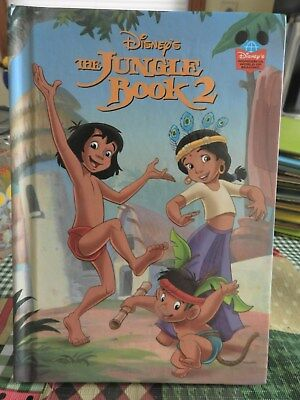 Walt Disney's The Jungle Book 2  Vintage Hardcover  Wonderful World of Reading