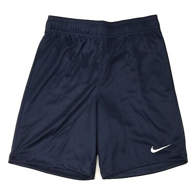 New Nike Soccer Futbol Park II Short Youth Medium 898025 Navy Blue