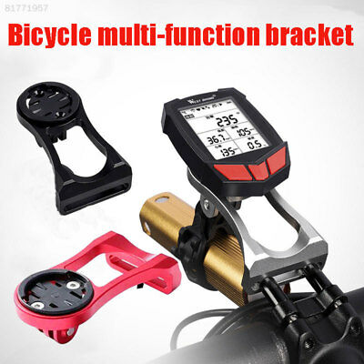 B5F5 Alloy Bike Front Stem Mount For Garmin Cateye Bryton Edge holder.