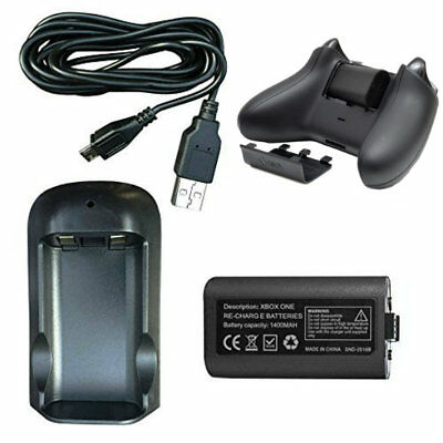 Rechargeable Battery & Charging Dock Pack For XBOX ONE Wireless Controllers