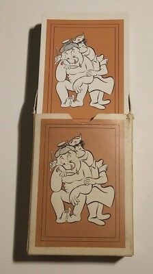 1950s usa medical cheer up cartoon playing cards deck stancraft