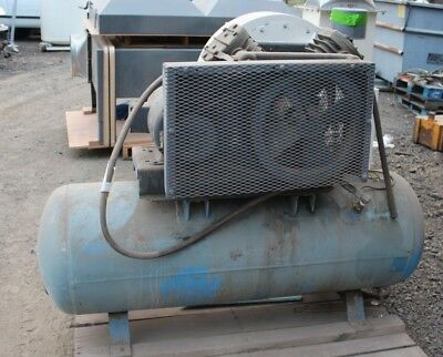 Ingersoll-Rand T30 Model V255D3 Baldor 3PH 7.5HP Air Compressor