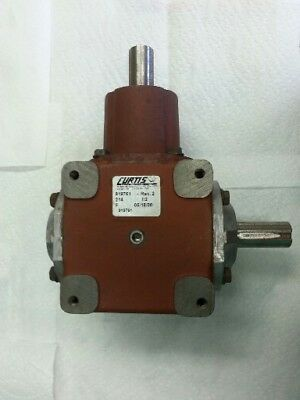 Curtis 1:2 Right Angle Gearbox