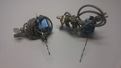 Lot of 2 Buchler Instruments Overhead 5070A Vibrating Stirrer Mixer Laboratory