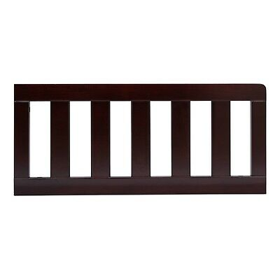 Delta Children Toddler Guardrail - Dark Chocolate New