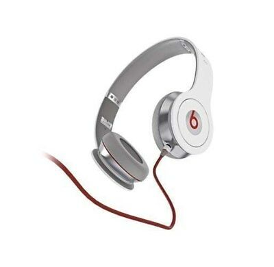 """Monster """"Beats By Dr. Dre"""" Solo HD White Grey Gray Folding wired"""