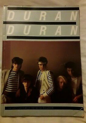 "DURAN DURAN ""The first four years of the Fab Five"" softcover Book 1984"