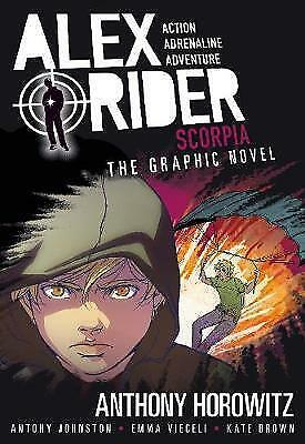 Scorpia Graphic Novel (Alex Rider), Johnston, Antony, Horowitz, Anthony, New, Pa