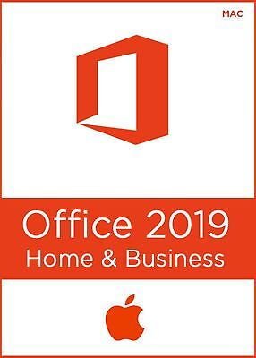Microsoft Office Home & Business 2019 For Mac - INSTANT DELIVERY!